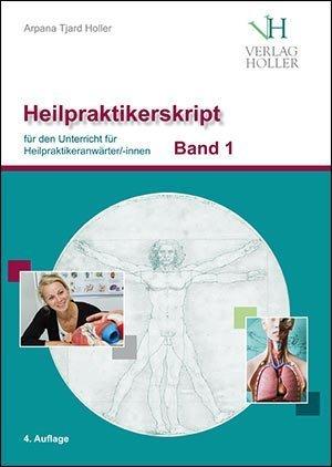 Heilpraktiker-Skript Band 1+2 von Arpana Tjard Holler, gebundene Ausgabe