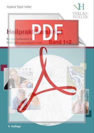 Holler Heilpraktikerskript Band 1+2 als PDF