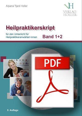 Heilpraktiker-Skript Verlag Holler als PDF und gebundene Ausgaben